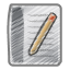 Scribble document icon