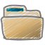 scribble folder icon