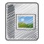 Scribble-photo-album icon