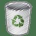 Scribble-bin-empty icon