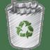 Scribble-bin-full icon
