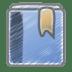 Scribble-bookmark icon