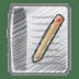 Scribble-document icon