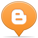 social balloon blogger icon