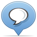 social balloon chat icon