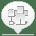 social balloon digg icon