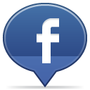 social balloon facebook icon