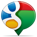 Social balloon google icon