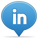 Social balloon linkedin icon
