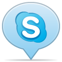 social balloon skype icon