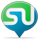 social balloon stumbleupon icon