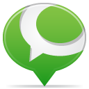 Social balloon technorati icon