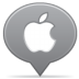 Social-balloon-apple icon