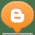 Social-balloon-blogger icon