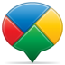 Social-balloon-buzz icon