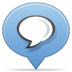Social-balloon-chat icon