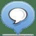 Social-balloon-chat icon