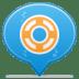 Social-balloon-designfloat icon