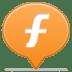 Social-balloon-furl icon