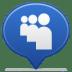 Social-balloon-myspace icon