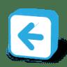 Button-arrow-left icon