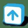 Button-arrow-up icon