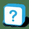 Button-question icon