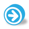 Button-round-dark-arrow-right icon