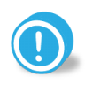 Button-round-dark-warning icon