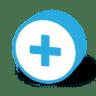 Button-round-plus icon
