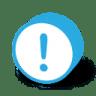 Button-round-warning icon