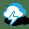 Weather-bolt-thunder icon