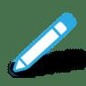 Write-pencil icon