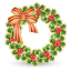 http://icons.iconarchive.com/icons/double-j-design/xmas-festives/64/xmas-wreath-icon.png