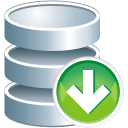 database down icon