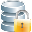 database lock icon