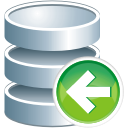 database previous icon
