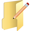 folder edit icon