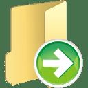 Folder next icon