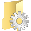 Folder process icon