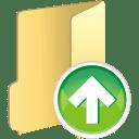 Folder up icon