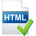 html page accept icon