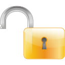 Lock off icon