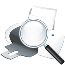 printer search icon