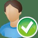 user accept icon