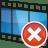 Movie-track-remove icon