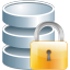 Database-lock icon