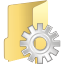 Folder-process icon