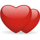 http://icons.iconarchive.com/icons/dryicons/valentine/128/hearts-icon.png