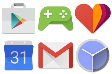 Android Lollipop Icons